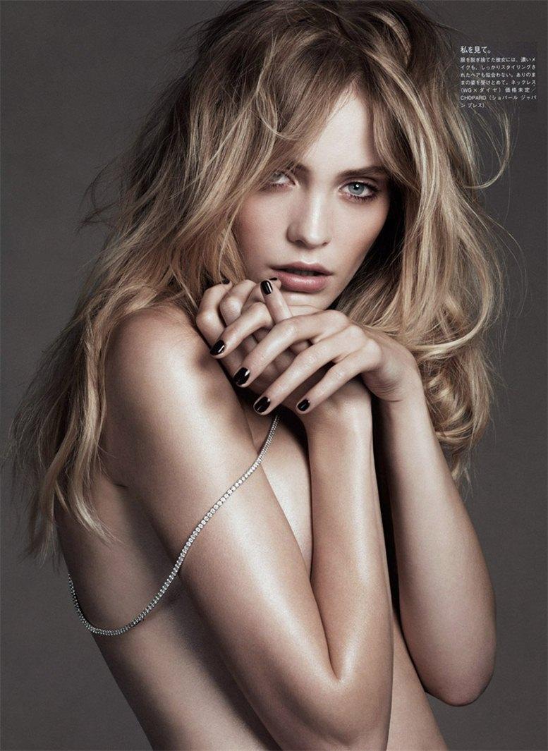 модель Хейди Маунт / Heidi Mount, фотограф Lachlan Bailey