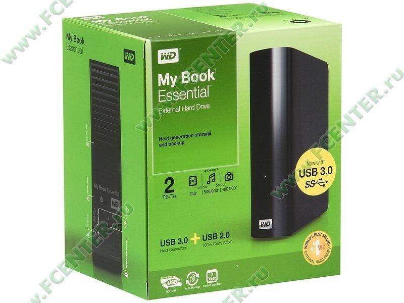 WD My Book Essential 2Tb