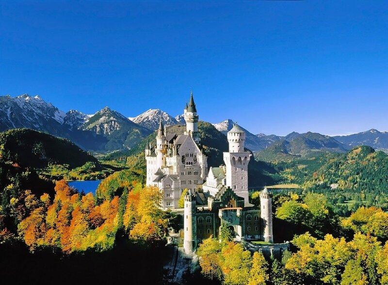 Германия - замок Нойшванштайн