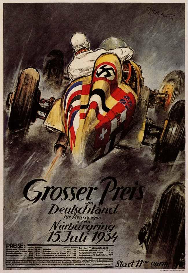 Большой приз Германии 17 июля 1934 года