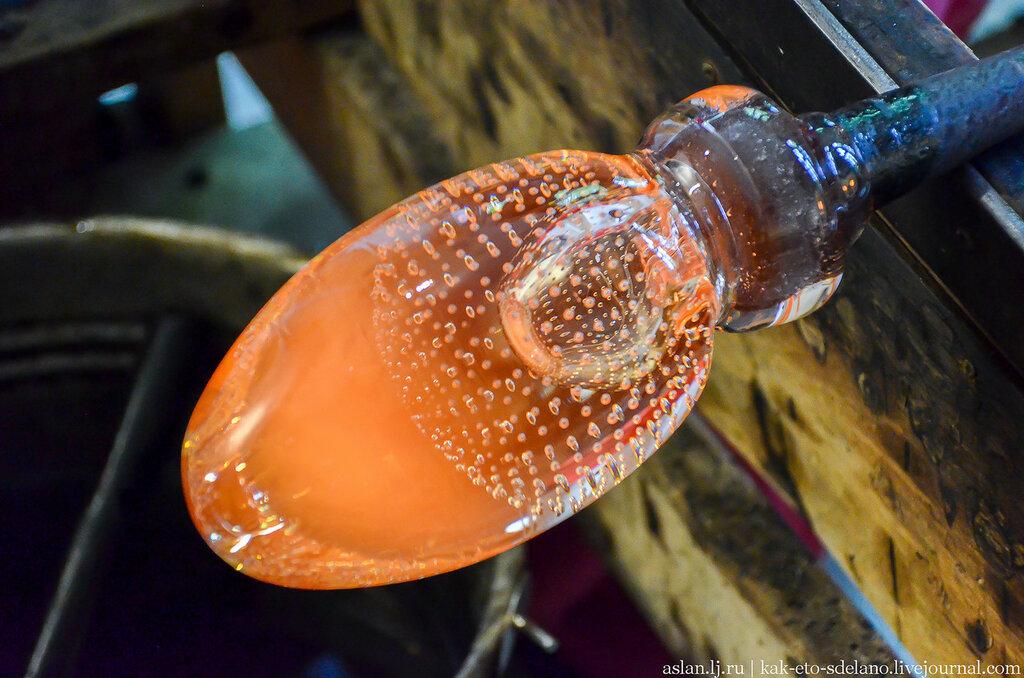 Как делали двойные стаканы в ручную