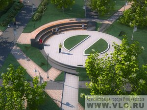 Во Владивостоке в сквере у театра им. М.Горького появится три фонтана