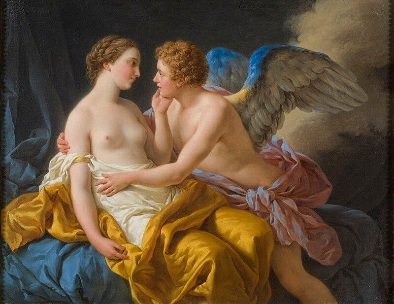 cupid and psyche myth or folktale Psyche and amor, also known as psyche receiving cupid's first kiss (1798), by françois gérard: a symbolic butterfly hovers over psyche in a moment of innocence poised before sexual awakening[1] cupid and psyche is a story originally from metamorphoses (also called the golden ass), written in the 2nd century ad by.