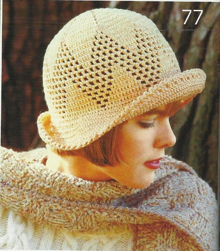 【转载】珍藏的帽子和钩针编织的帽子Podarok - 荷塘秀色 - 茶之韵
