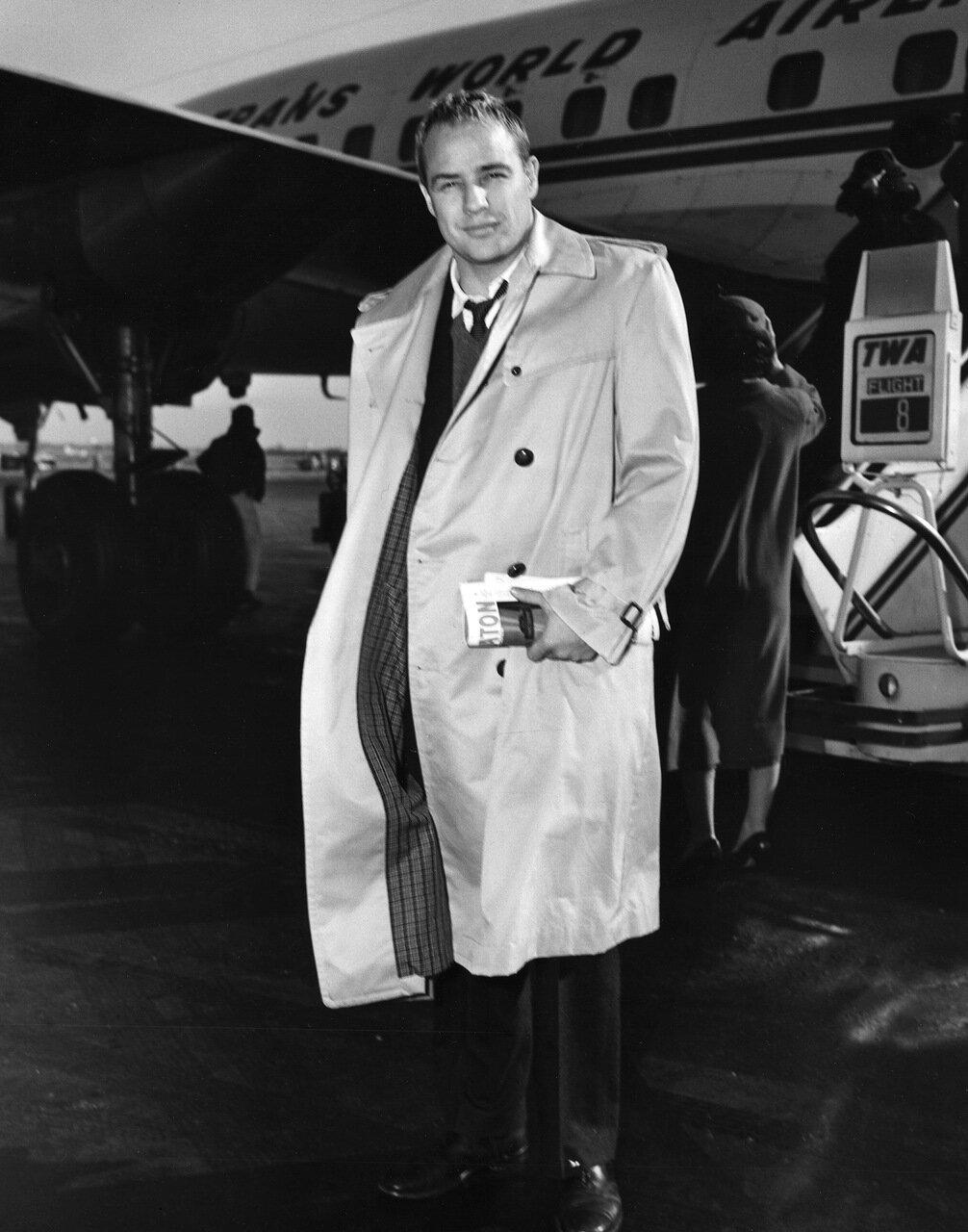 Actor Marlon Brando