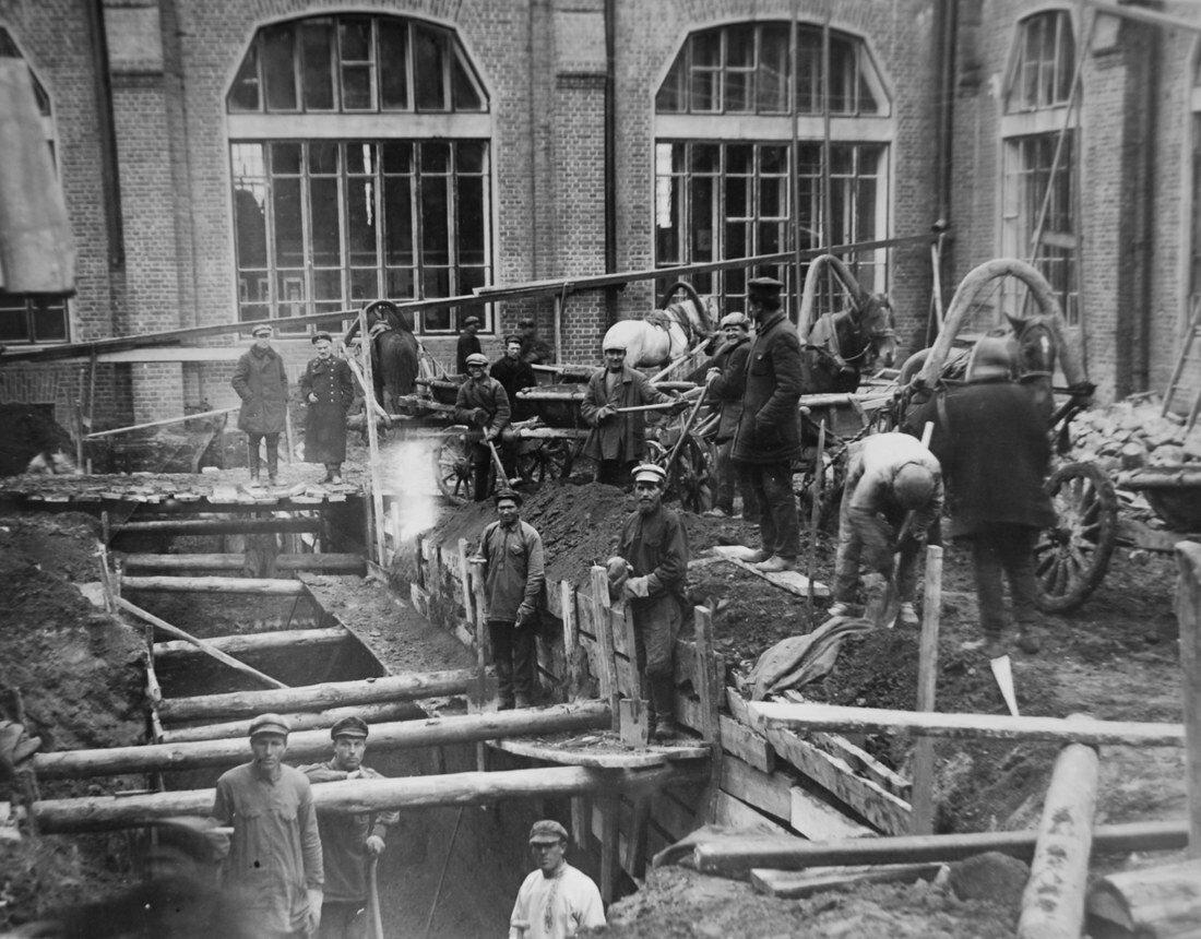 1914. Первая реконструкция станции