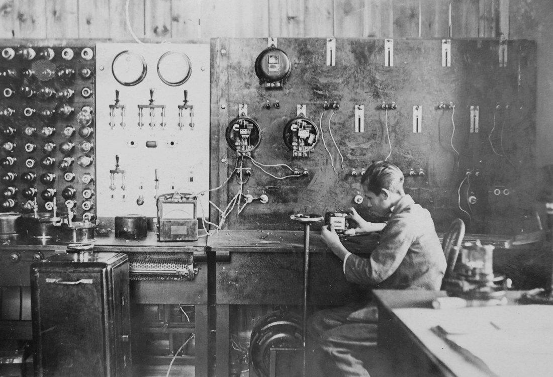 1928. Измерительная лаборатория