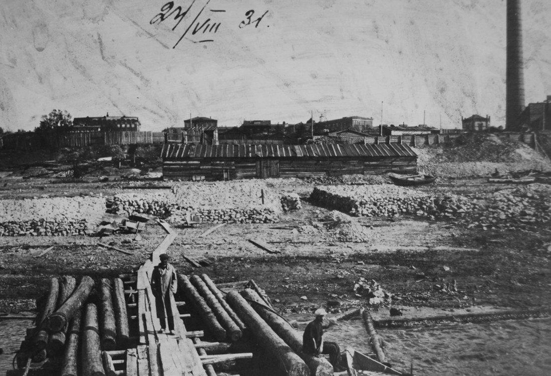 1931. Западная сторона стройки СамГРЭС