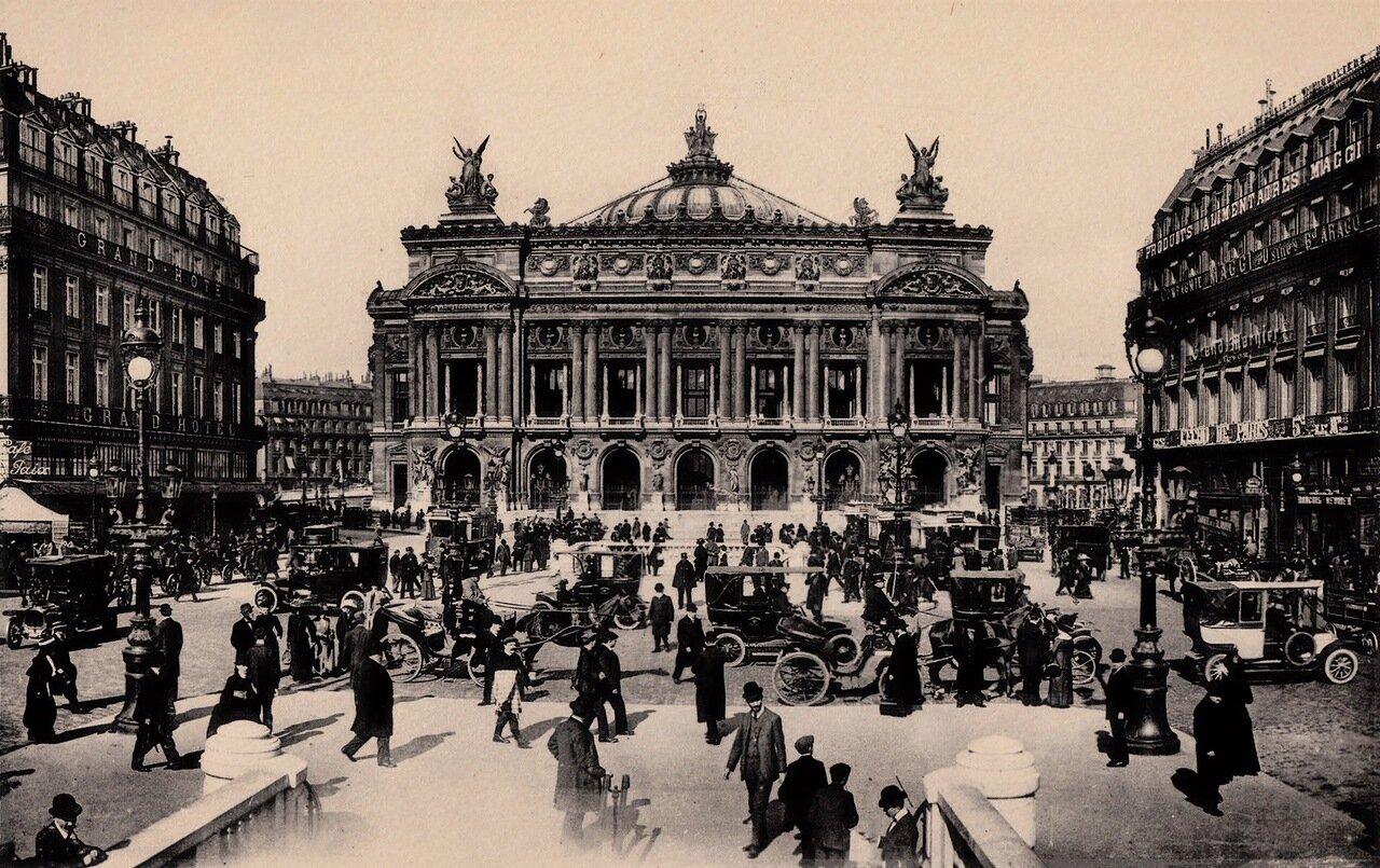 1910-е. Опера Гарнье