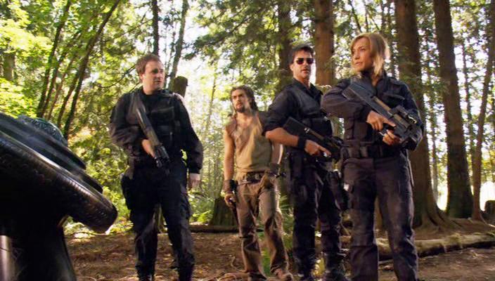 Звeздные Врата: Атлантида / Stargate: Atlantis (сезоны: 1-5:  1-100 из 100 серий) (2004-2009) DVDRip от ТВ-3