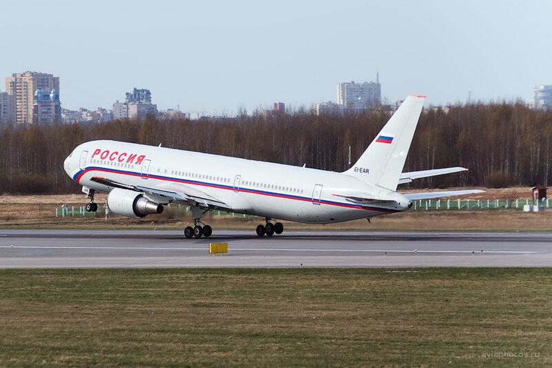 Boeing 767-3Q8/ER (EI-EAR) Россия D804276