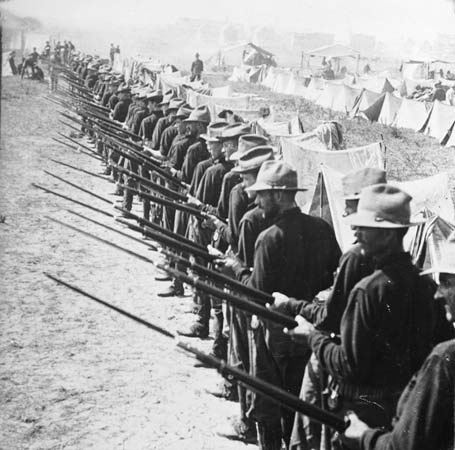 was the spanish american war justified 1 the war was fought in the spanish colonies of the philippines and cuba on june 22, 1898, the united states landed 15,000 soldiers southeast of santiago de cuba the troops engaged and defeated spanish land forces july 1 around the city.
