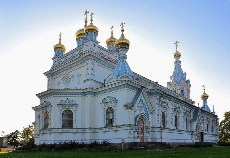 ЛАТВИЯ. Даугавпилсский православный кафедральный собор Святых благоверных князей мучеников Бориса и Глеба