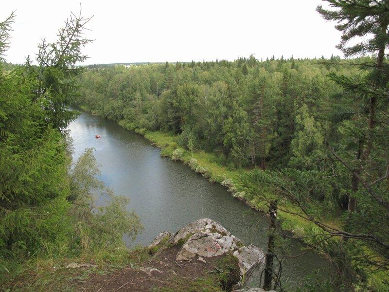 Вид с горы Толстик