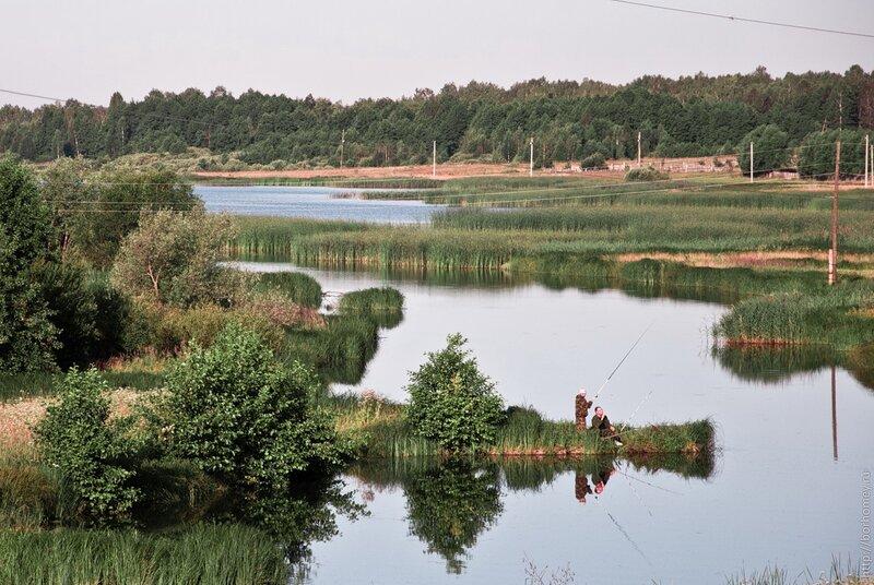 илев рыбаки озера