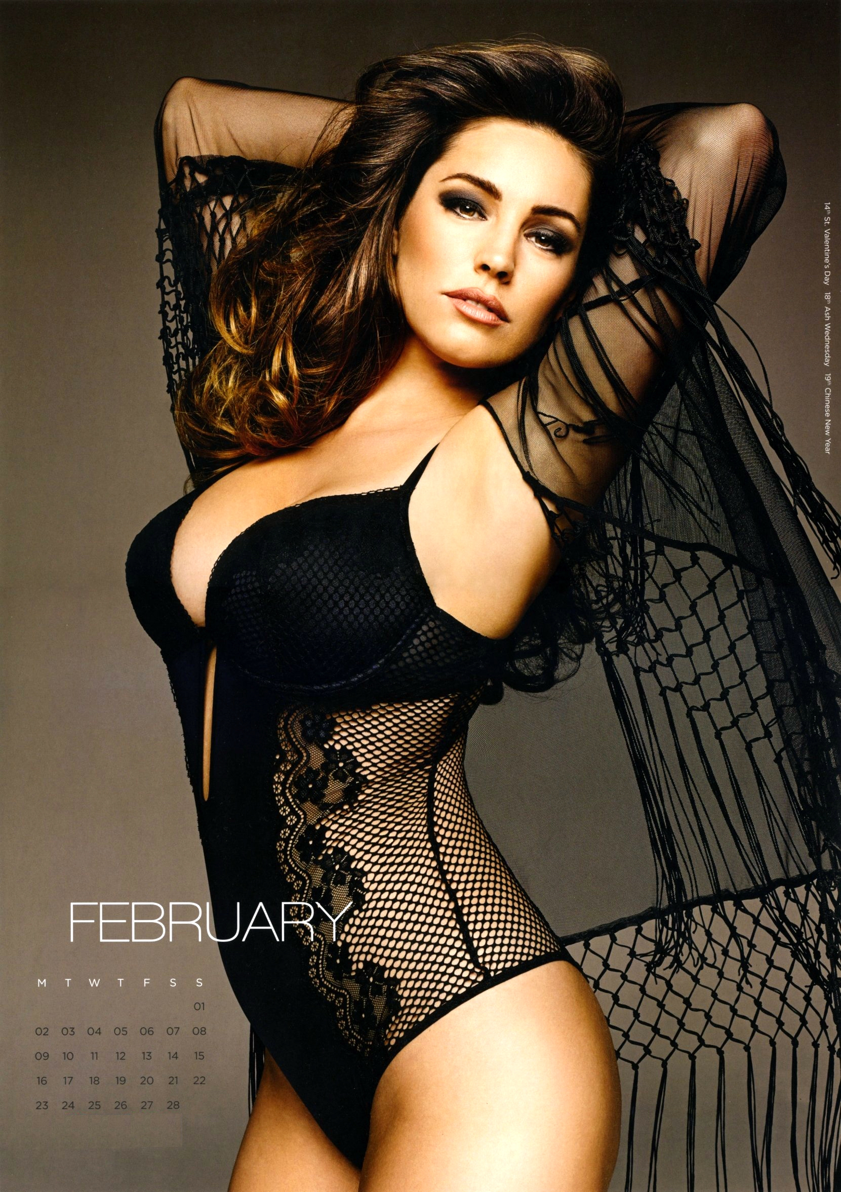 Kelly Brook calendar 2015