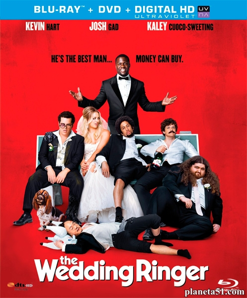 Шафер напрокат / The Wedding Ringer (2015/BDRip/HDRip)