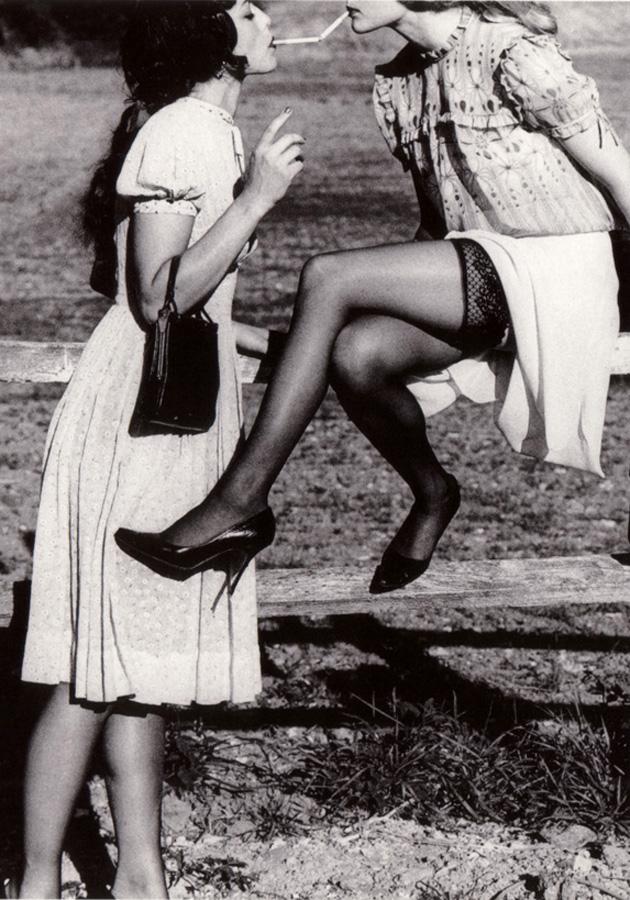 Janelle Fishman as Emily; Sarabeth Stroller as Isabelle in Revenge by Ellen von Unverth
