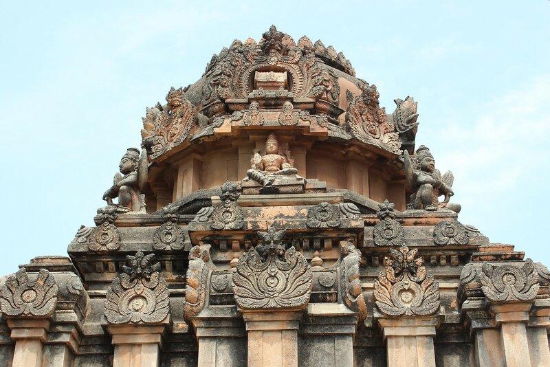 Корона Индии - храм Кришны в Хампи
