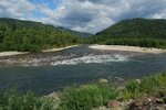 Река Большой Казыр впадает в Томь