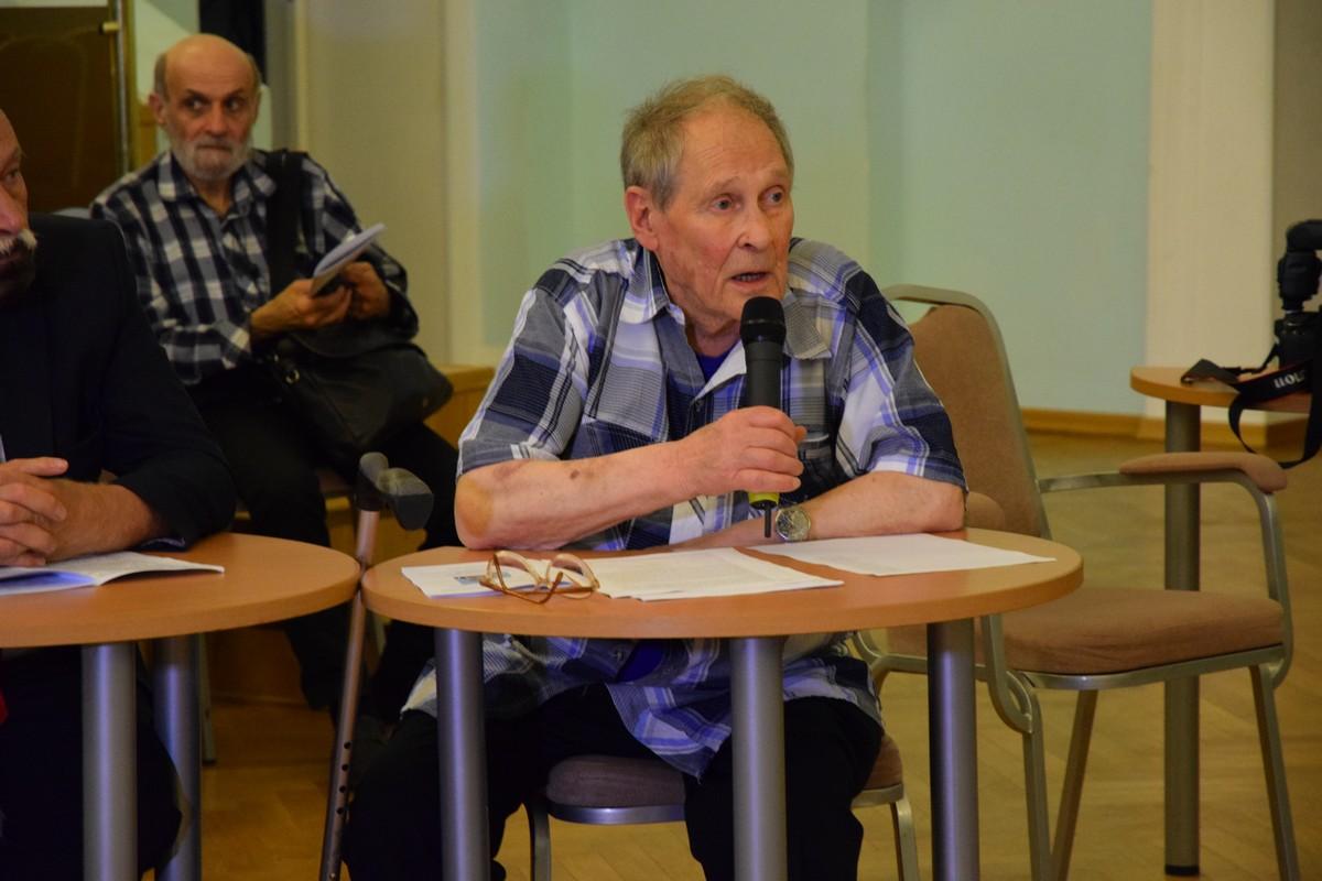 Старейший российский правозащитник, диссидент – Сергей Адамович Ковалев