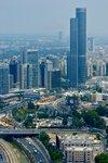 Тель Авив, вид на Бриллиантовую биржу с высоты 150 метров.