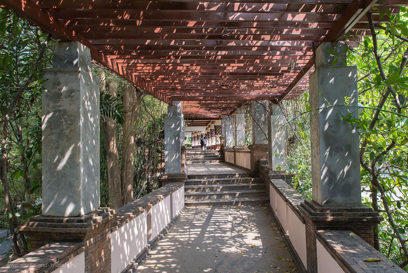 Фото 7. Галерея, ведущая к Черному Монаху. Самостоятельная экскурсии в окрестностях города Хуахин. (800, 24, 9.0, 1/100)