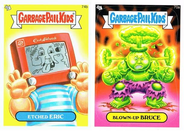 Garbage Pail Kids 2014 - Une nouvelle serie de Crados !