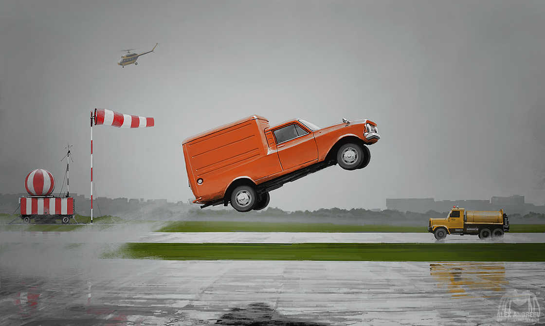 Separate Reality - Les nouvelles illustrations surrealistes d'Alex Andreyev