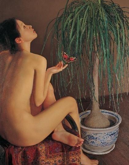 Li Guijun. Женский образ в современной живописи Китая.jpg
