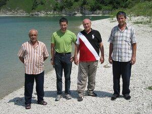 мы на берегу оз. Кезеной-ам, 16.07.2011