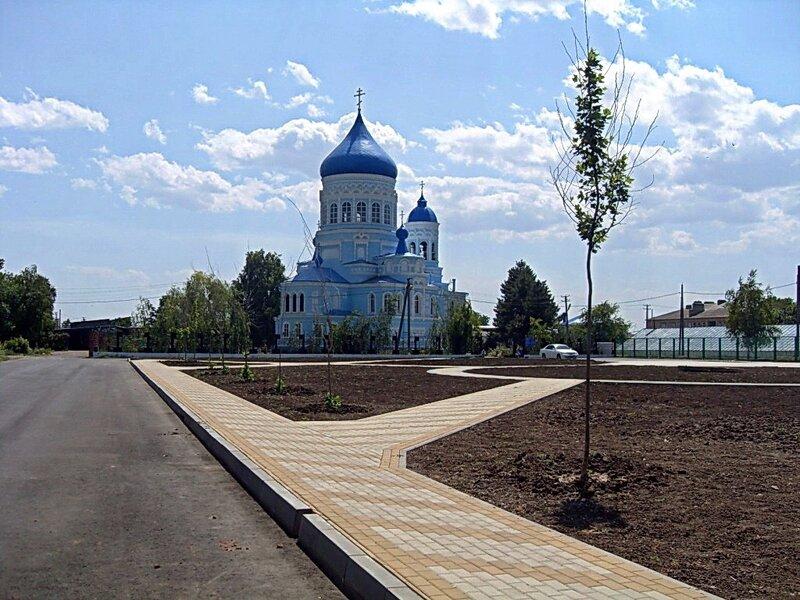 Храм в станице Каневской ... 001. Велопутешествие по Кубани.2009. (39).jpg