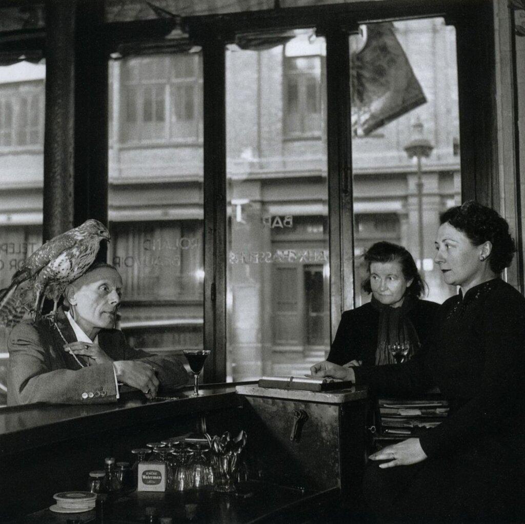 Robert DoisneauMonsieur Beauvoir, 1950