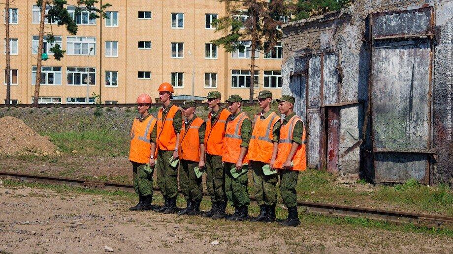 Учебный центр жд войск рф (16082011), военное, жд, московская область, музей, пресс-тур, экскурсия