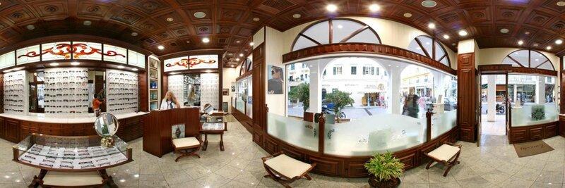 Панорамы: Офисы, магазины, улицы - 360 градусов