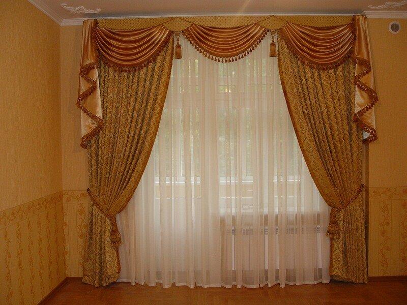 Сеть салонов штор в Киеве.  Продажа штор и гардин современного дизайна.