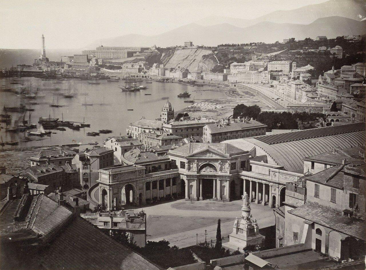 Вид на залив с железнодорожного вокзала