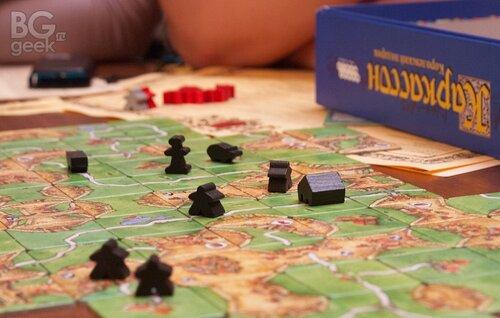 настольная игротека, настольная игра Каркассон / Carcassonne