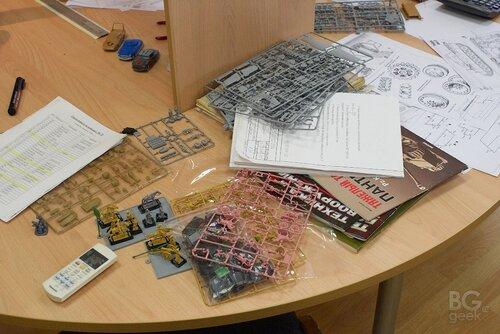 экскурсия и фото репортаж на фабрику моделей и настольных игр компании Звезда
