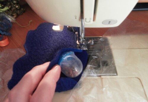 Развивающий коврик... учимся шить