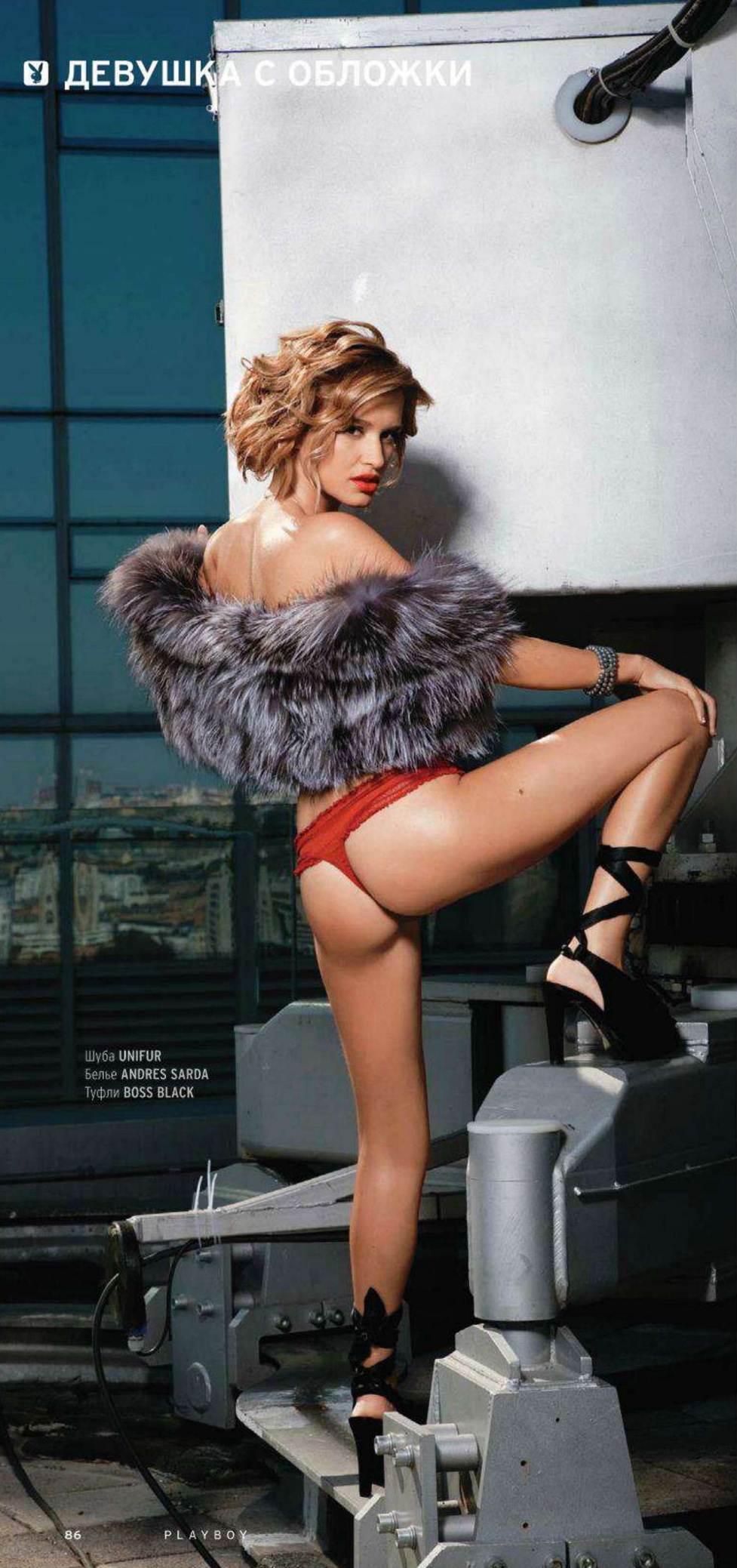 Ксения Бородина снялась обнаженной для Playboy. borodina 2 Ксения