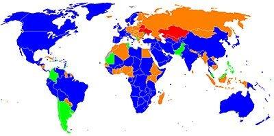 Браузерная война. Мировая география браузерного влияния.