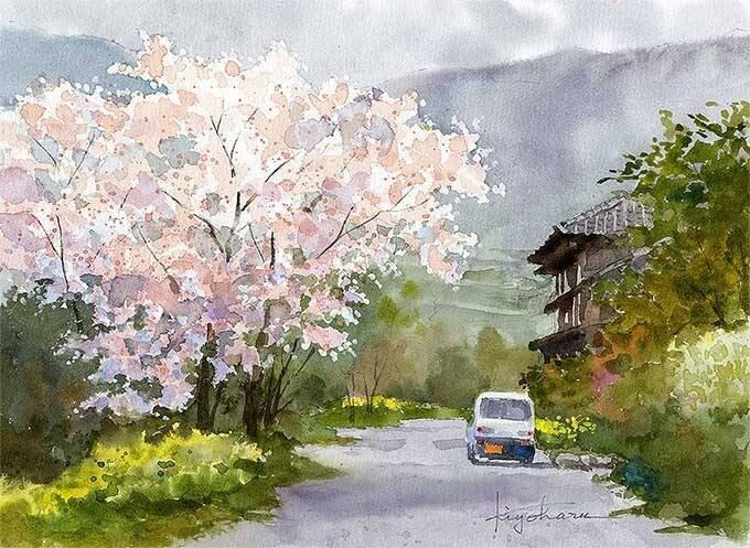И вновь весна придёт, и зацветут сады... Kiyoharu Narazaki
