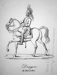 драгун 1800-1812