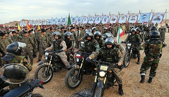 By Photo: Iran Basij Military Forces Massive Drills