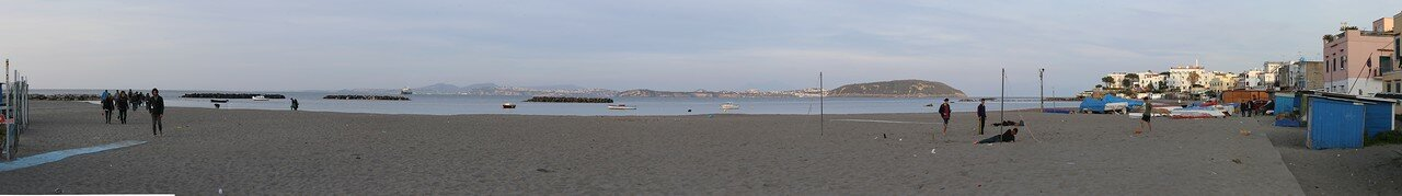 Искья. Пляж Сан-Пьетро  (Piaggia di San Pietro)