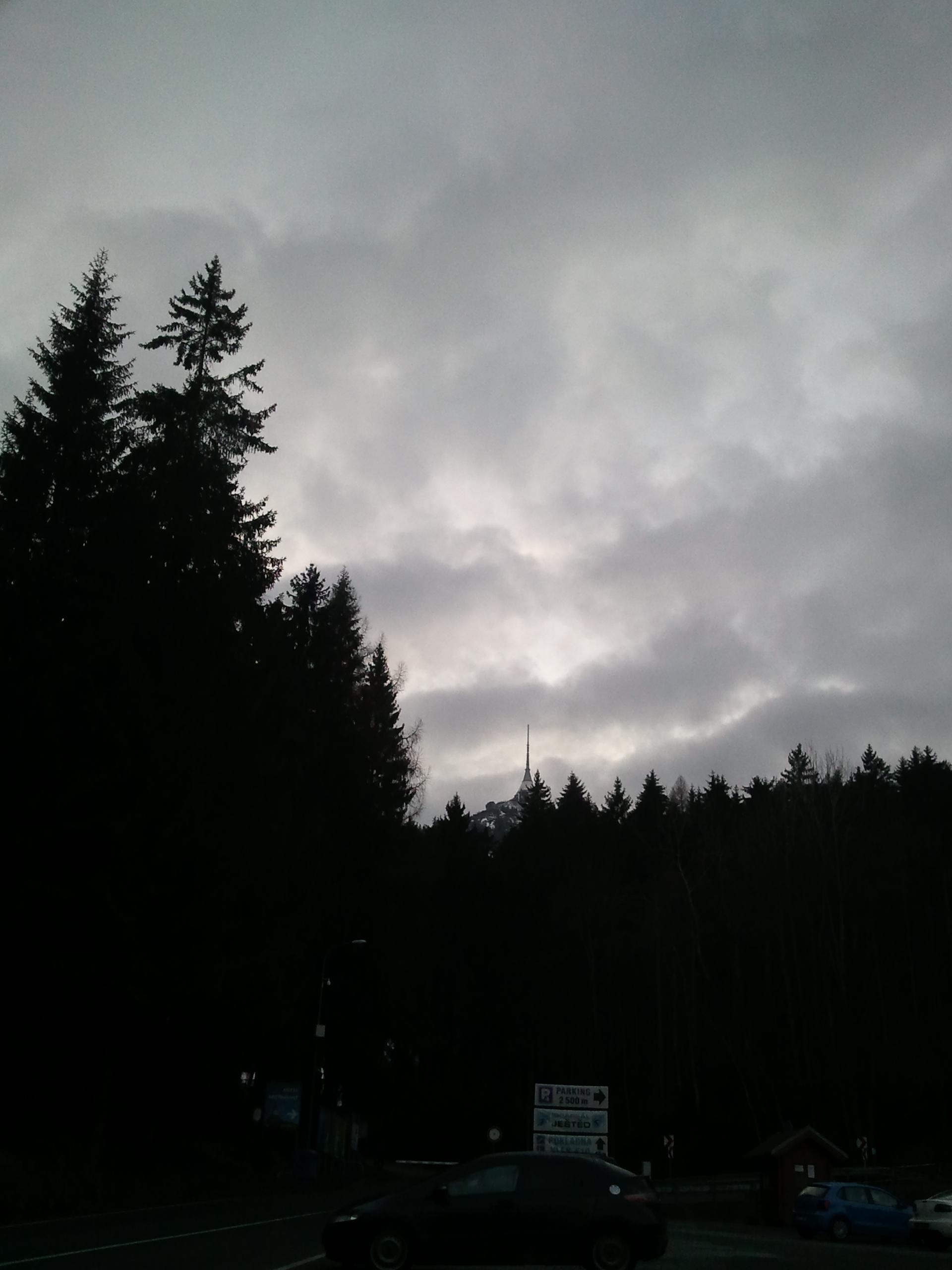 Путешествия: Под облаками. Ještěd.