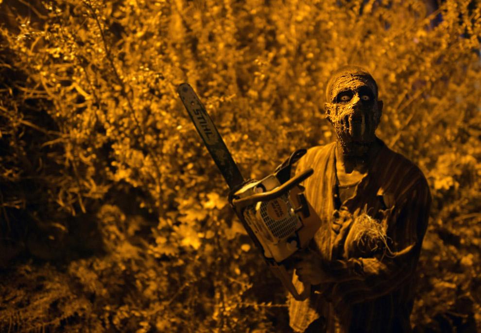 Важной традицией празднования Хэллоуина является организация так называемых Haunted attractions (рус