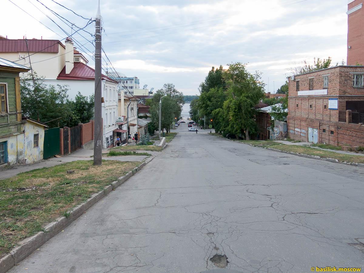 Набережная Волги. Самара. Июль 2015.