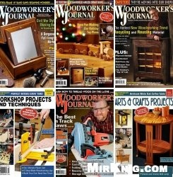 Woodworker's Journal (2014) 10 issues